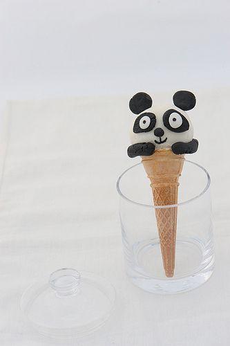 Il Cono Panda di Montersino  #christmas #natale #gikitchen #maghettastreghetta #iaiaguardo