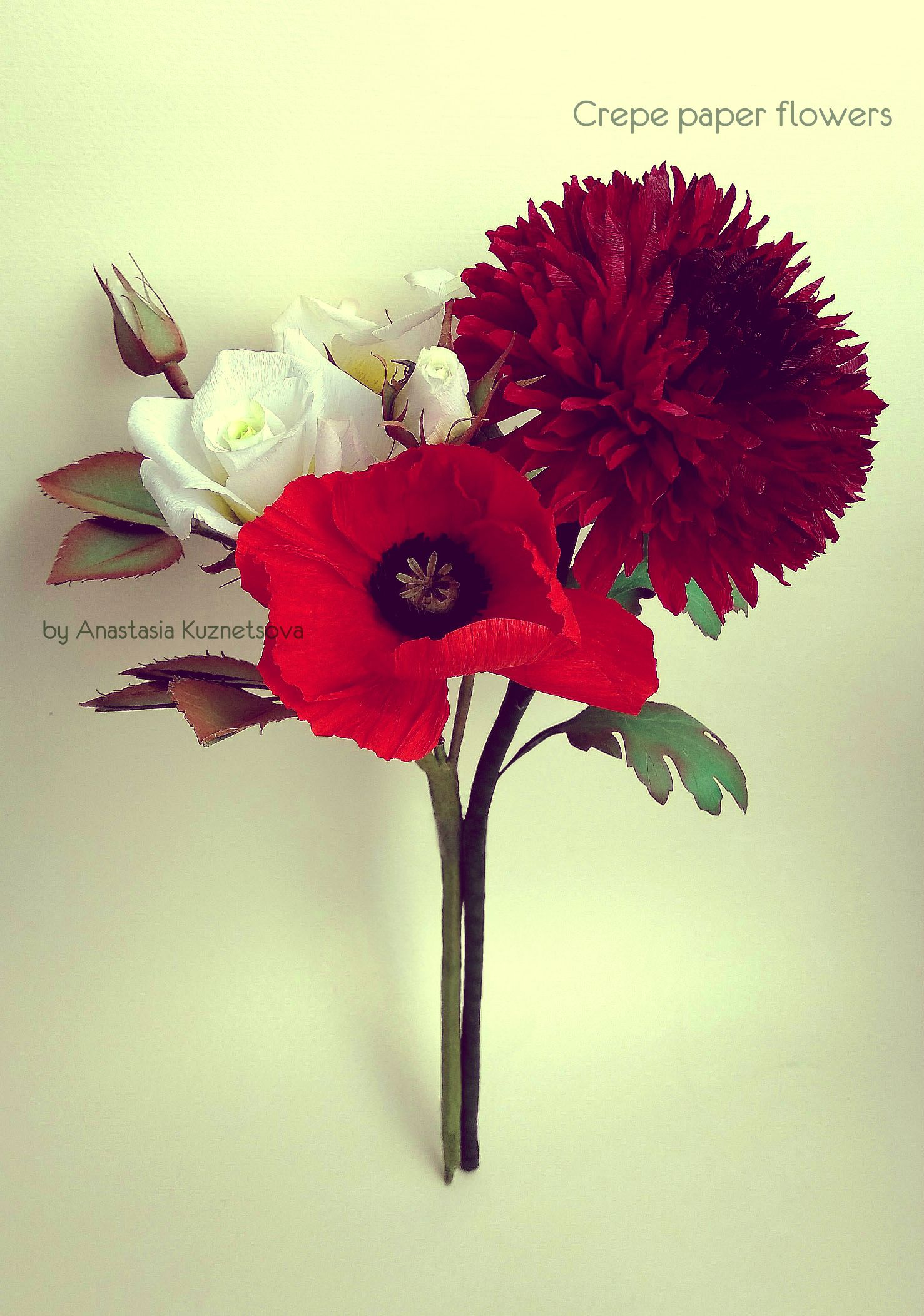 Crepe Paper Flowers Video Tutorials Craft Ideas Pinterest
