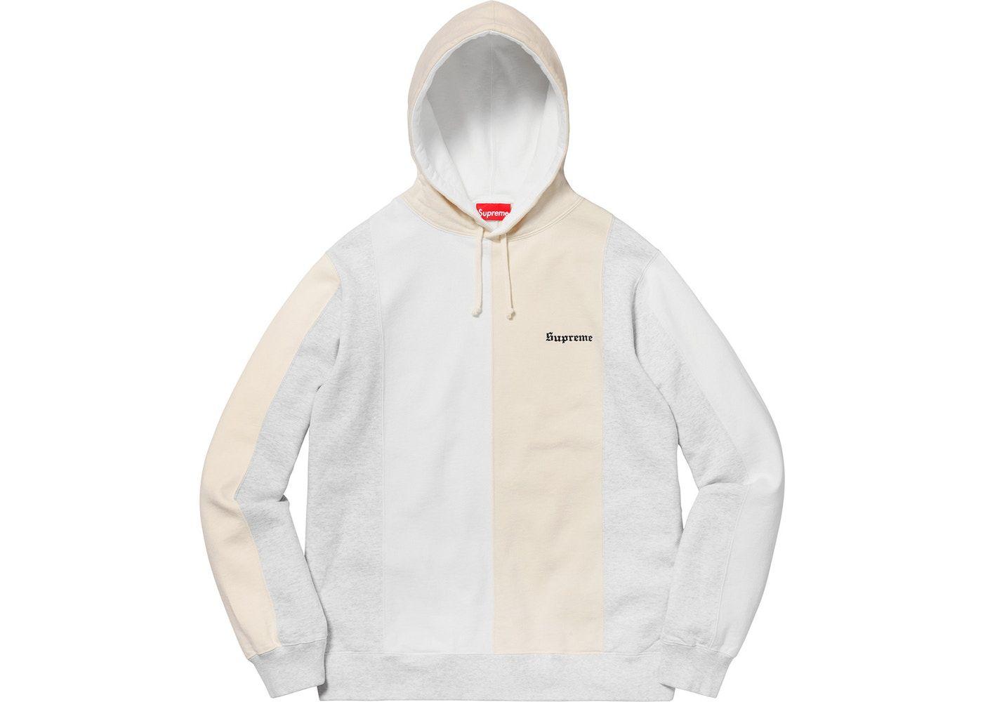 Supreme Tricolor Hooded Sweatshirt Ash Grey In 2021 Hooded Sweatshirts Ash Grey Tri Color [ 1000 x 1400 Pixel ]