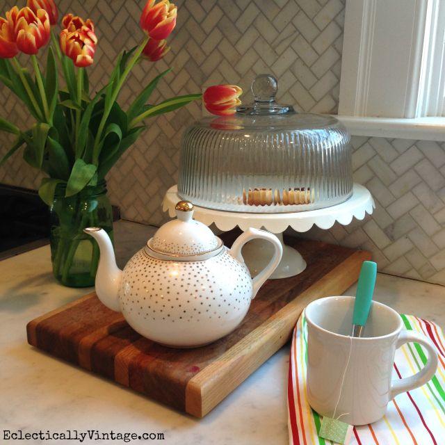 Gold Kitchen Accessories: My White Phase - In The Kitchen