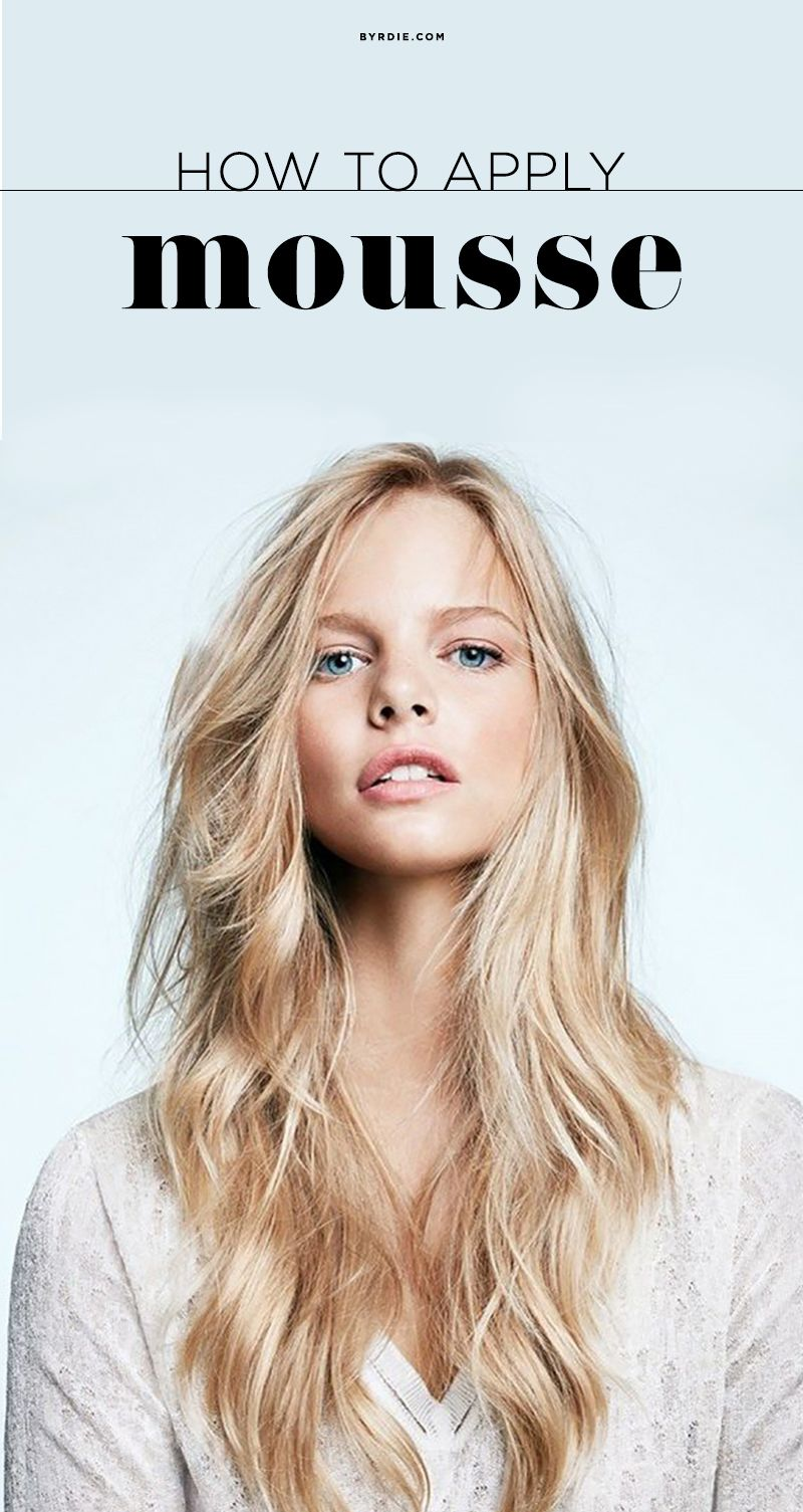 Surprising Reasons You Should Use Mousse In Your Hair Hair Mousse Hair Styles Cool Hairstyles