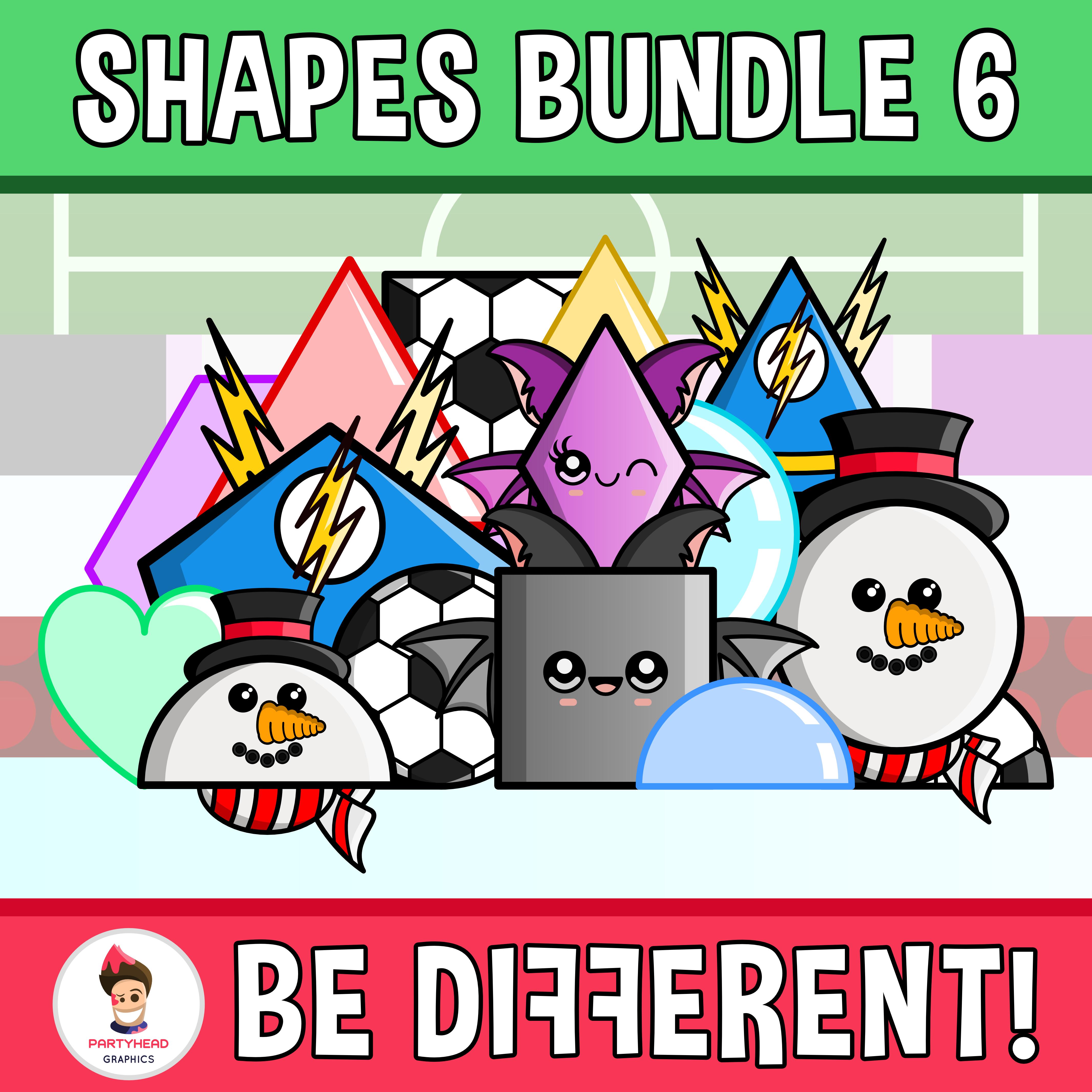 Shapes Clipart Bundle 6