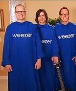 weezer rocking out in the snuggie snuggies pinterest