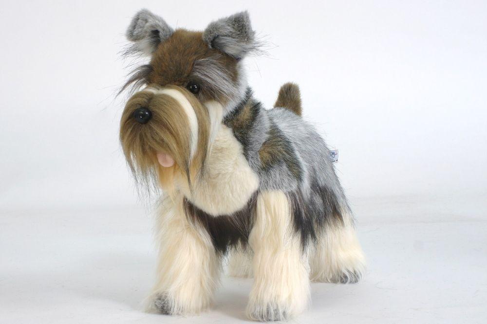 Hansa Toys Usa Miniature Gray Schnauzer Dog 5767 Miniature Schnauzer Schnauzer Miniature Schnauzer Puppies