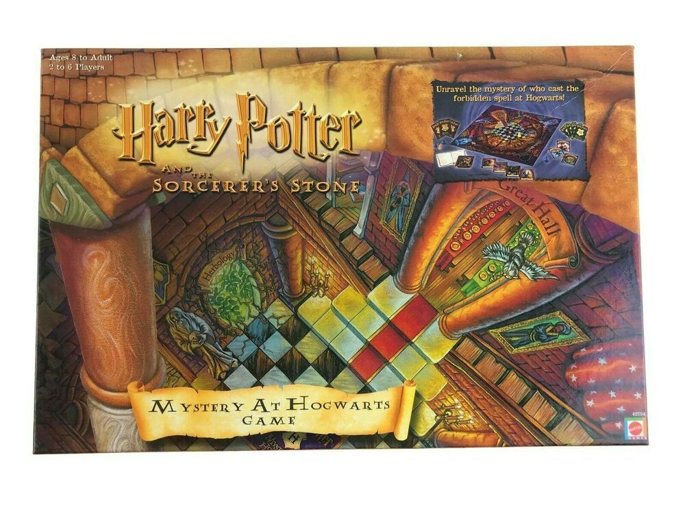 Vtg 2000 Harry Potter and the Sorcerer's Stone Mystery at