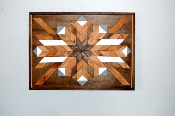 Tribal Wall Art Southwestern Art Navajo Wood Art Native American Art Geometric Wood Art Tribal Art Chevron Wall Wood Art Chevron Wall Art Wood Art Design