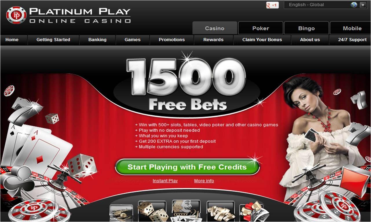Platinum Play Casino Iphone