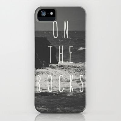 On The Rocks iPhone & iPod Case by Nuam - $35.00