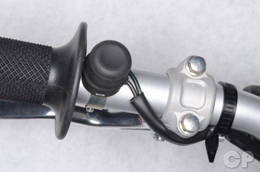 Honda CRF150R engine kill switch inspection. Honda