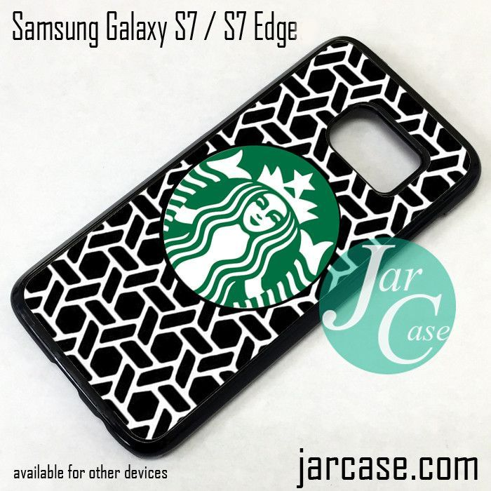 Starbucks Art Phone Case for Samsung Galaxy S7 & S7 Edge