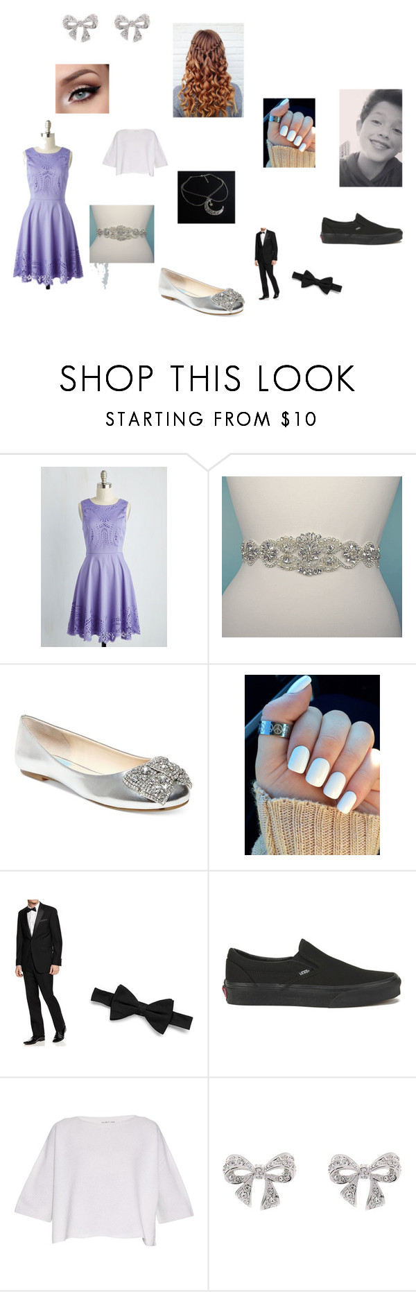 Diamond&Jacob by alissaoriginal on Polyvore featuring Helmut Lang, Betsey Johnson and Vans