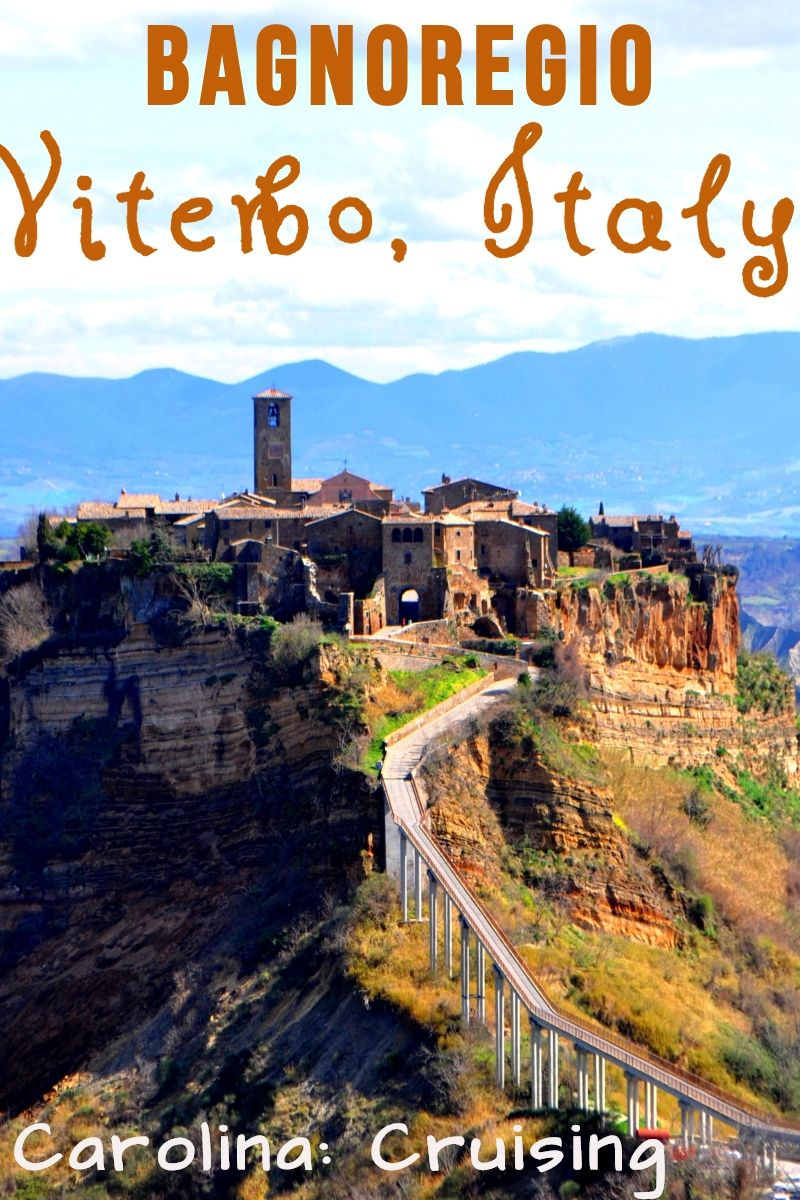 Bagnoregio Is An Old Small Town On Top Of A Hill In Viterbo In