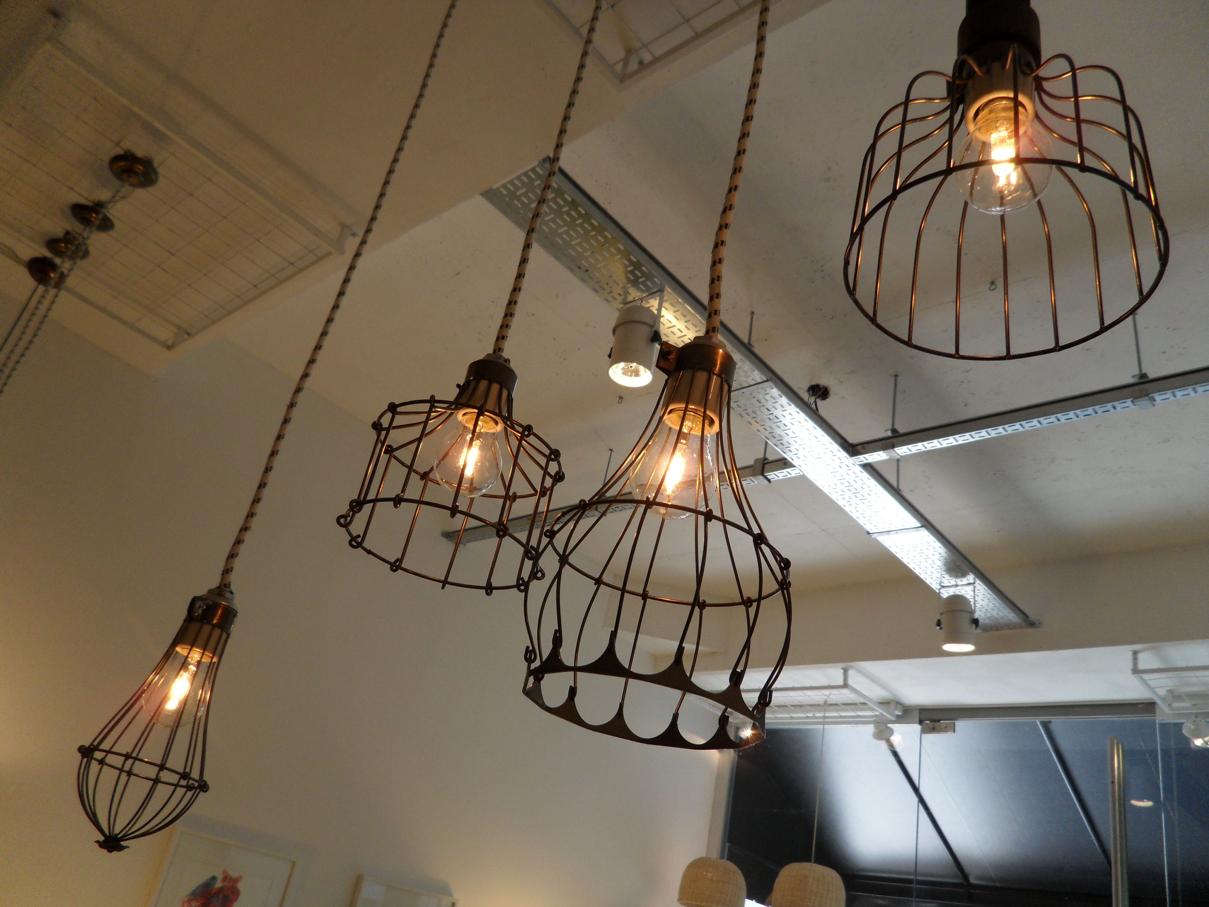 Lamparas de hierro | lamparas | Pinterest