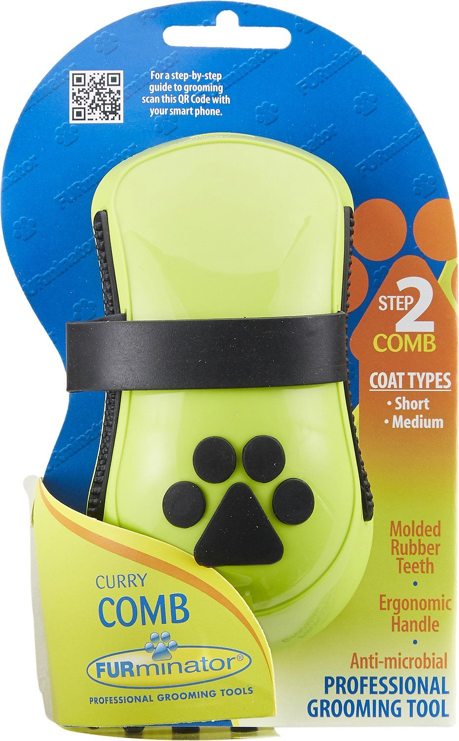 FURminator Curry Comb For Dogs Curry comb