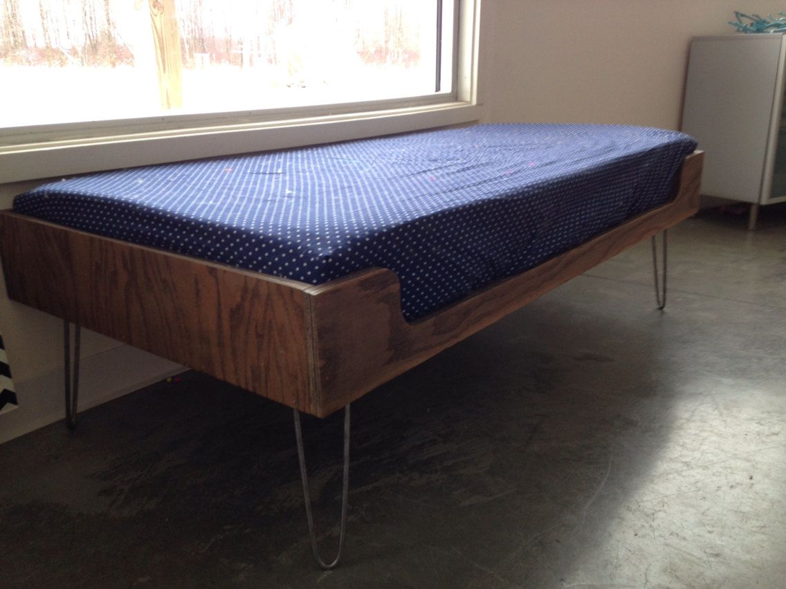 Mid Century Modern Minimalist Plywood Window Seat With By Farjer Mid ...