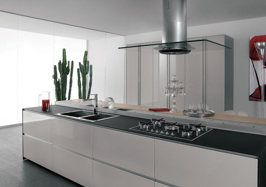 Kitchen cabinet - Artematica Vitrum from Valcucine | KITCHEN ...