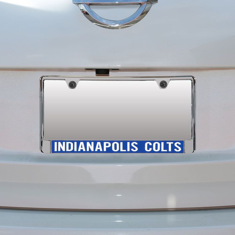 Indianapolis Colts Mirror With Color Letters License Plate Frame ...