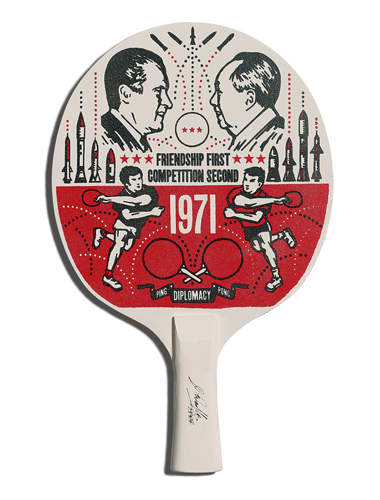 Table Tennis Room Design: Racket Designed By Bold & Noble