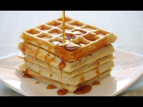 طريقة عمل الوافل بالبيت Gluten Free Belgian Waffles Waffle Recipes Waffles