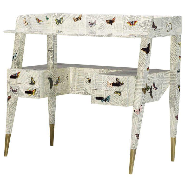 Desk by Piero Fornasetti and Gio Ponti