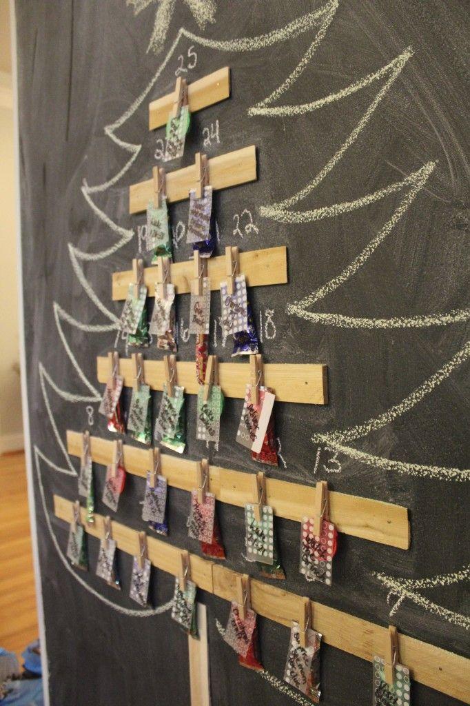 DIY advent calendar wwwsimplestylings Christmas makes