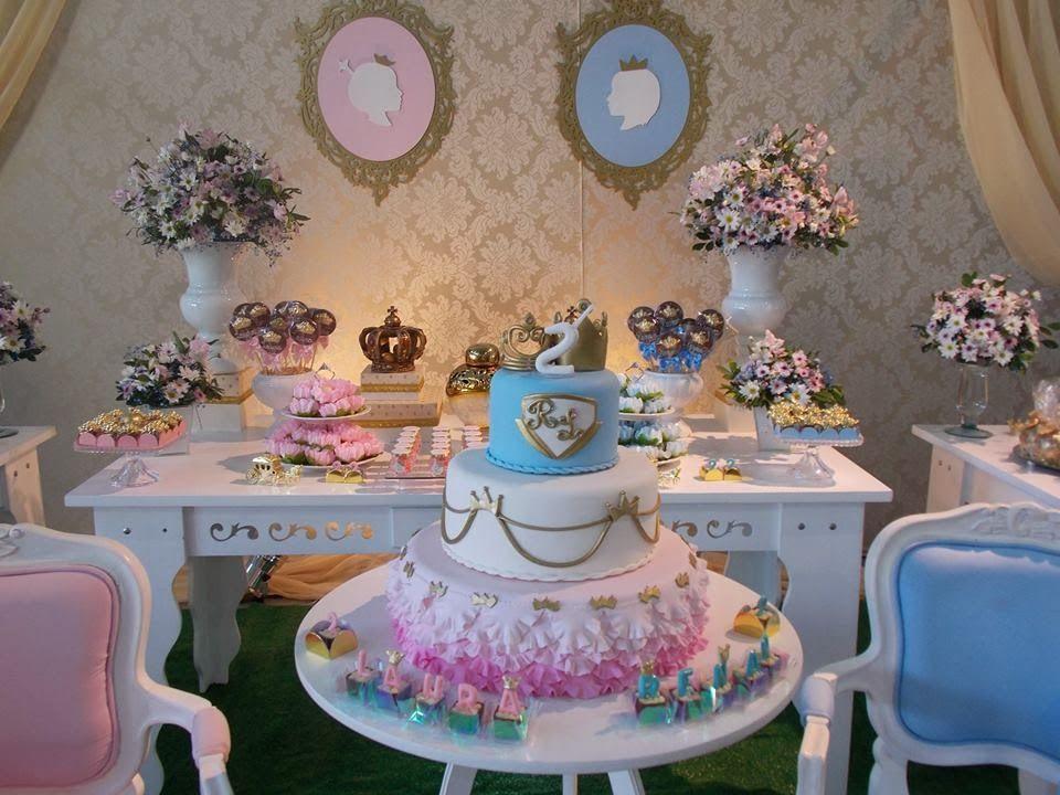 Conhecido Encontrando Ideias: Festa Príncipe e Princesa!! | festas  UI23