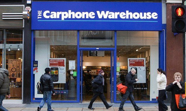 Carphone Warehouse Launches Its Own Mobile Network Called Id Networking Product Launch Warehouse