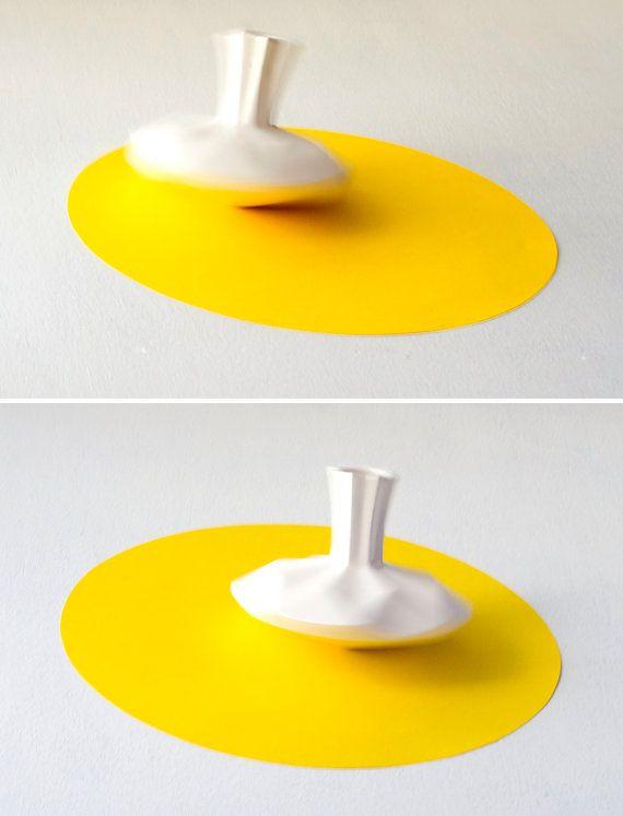 on sale set of 3 small ceramic vases spinning par. Black Bedroom Furniture Sets. Home Design Ideas