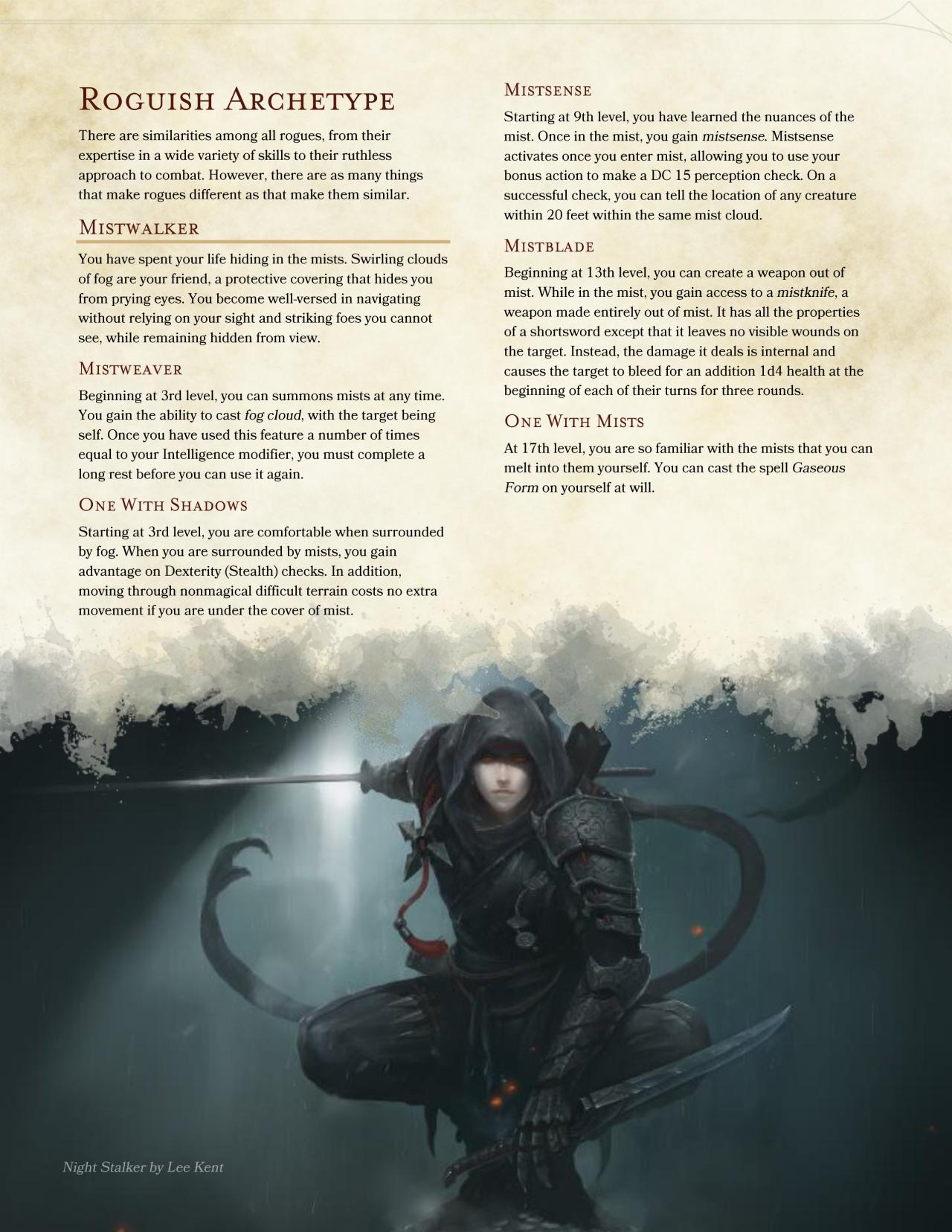 Swashbuckler 5e sword coast pdf