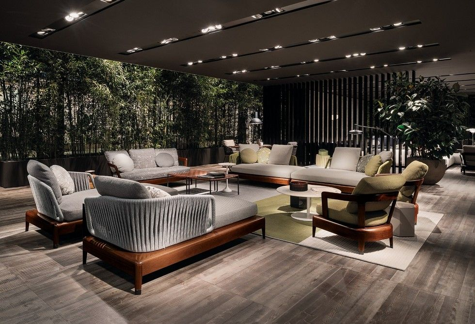 Italian Furniture Brands Minotti New Project For Outdoor