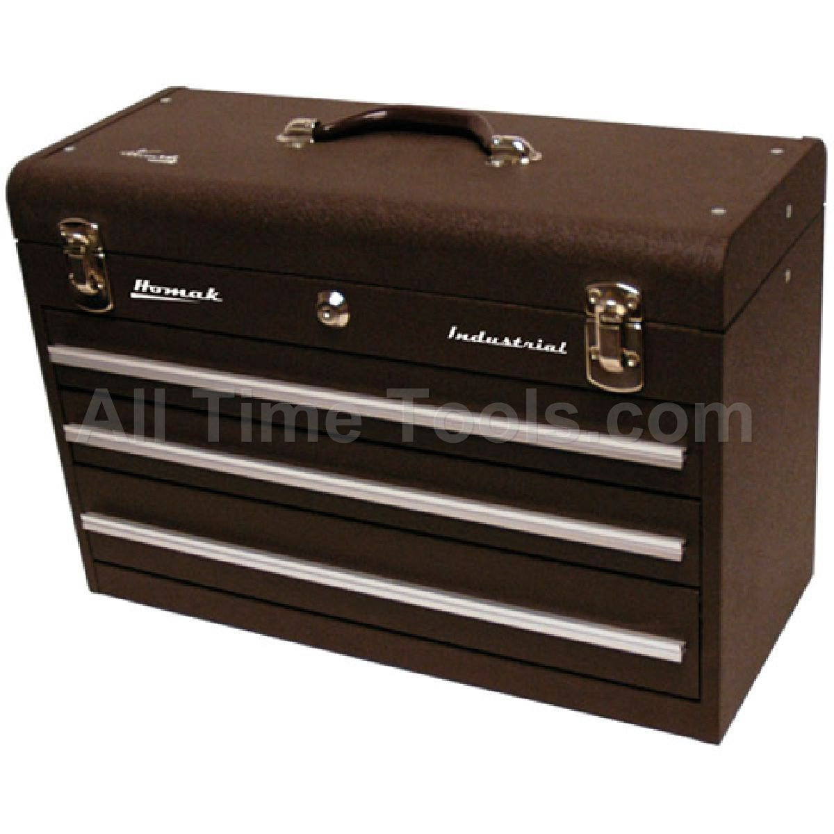 """Homak 20"""" 3 Drawer Friction Brown Toolbox Tool boxes for"""
