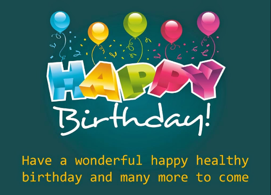 Happy Birthday Messages in English for Friends, Birthday