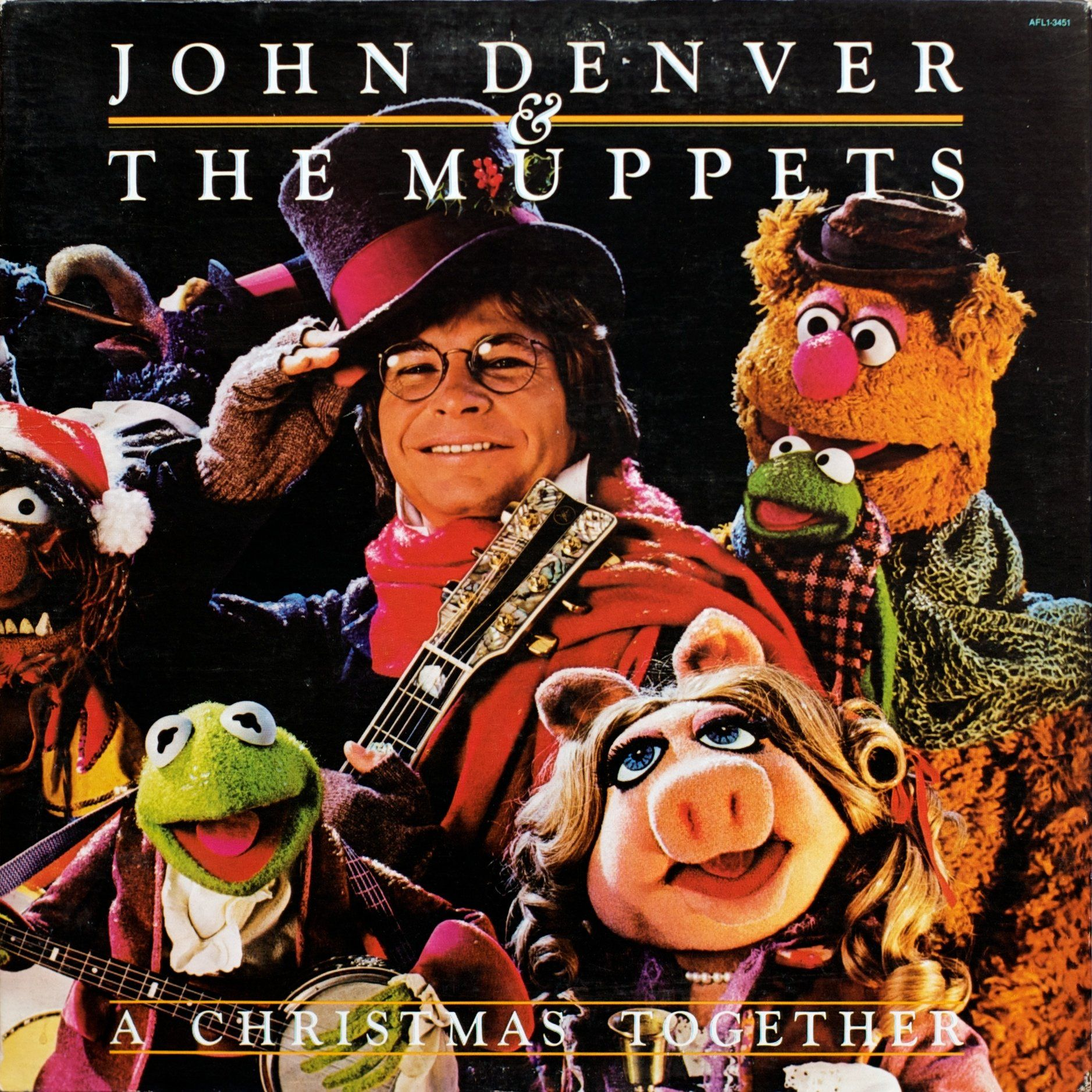 Let S Put On Some Holiday Tunes And Raise A Glass To Friendship Cheers Muppets Christmas John Denver Christmas Albums
