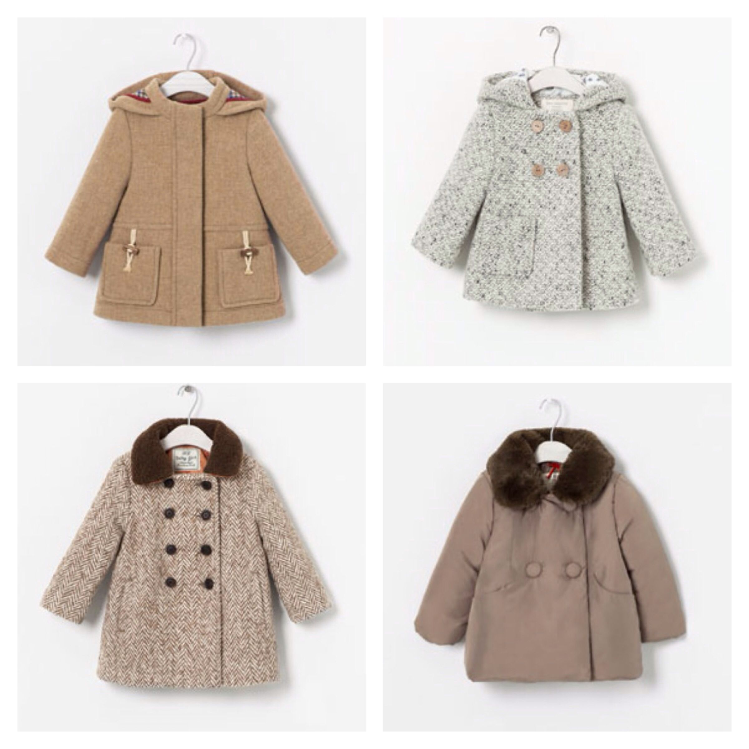 ef4a3496f Zara baby girl coat