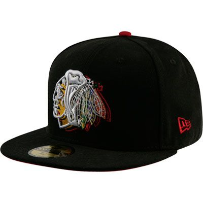 Chicago Blackhawks 59FIFTY NE Illusion Fitted Hat  5509aecc798