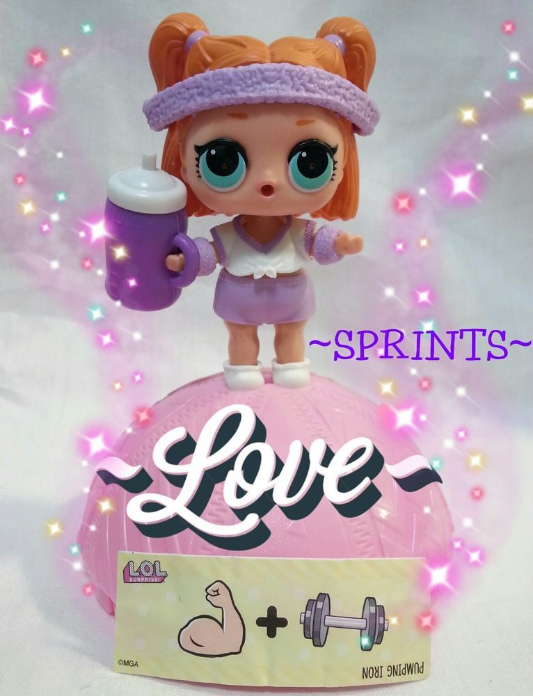 LOL Surprise Dolls Sprints Gift Series 3-015 Confetti Pop Big Sister Figure Toy