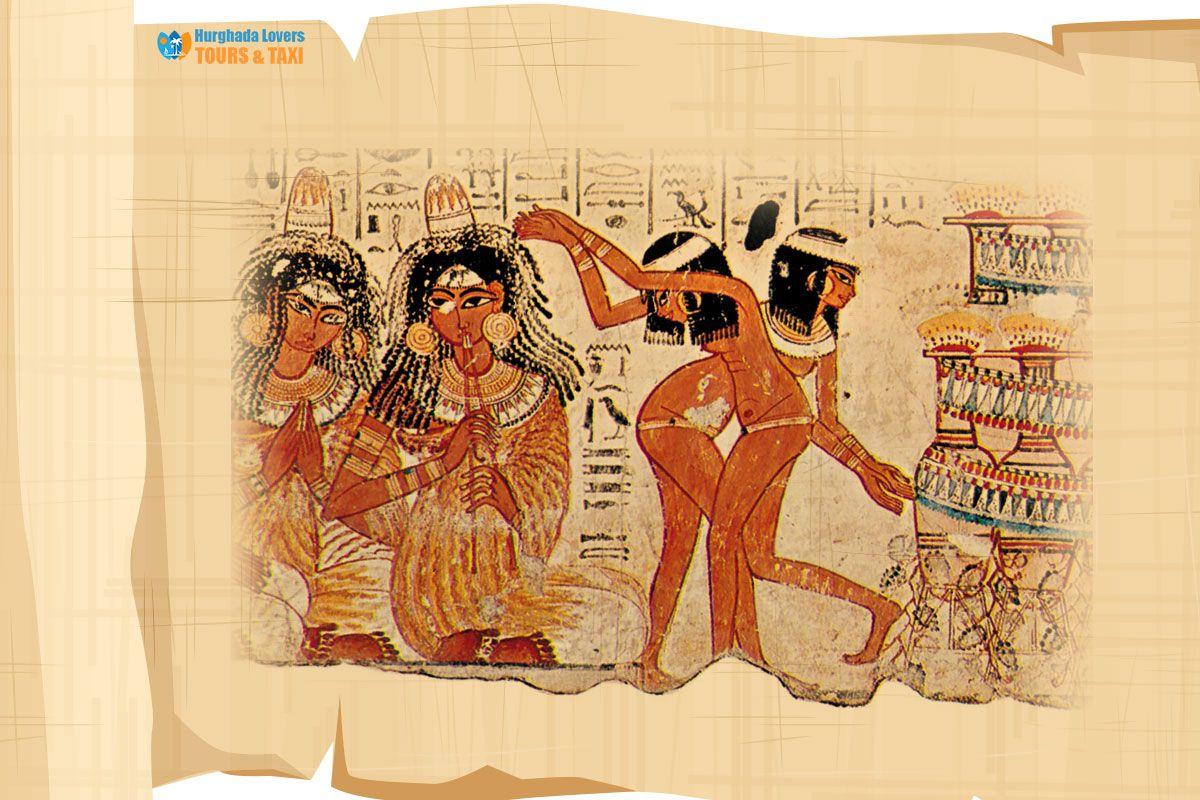 الرقص في مصر القديمة وما هي أسرار الراقصات الفرعونيات الموجودة على جدران المعابد والتعرف على فنون الرقص الجنائزي الفرعوني وما Egypt Travel Egypt Ancient Egypt
