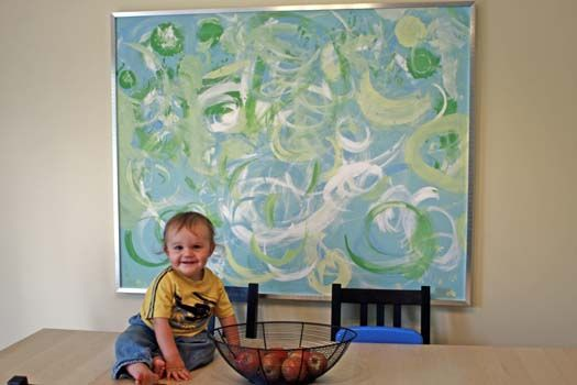 What To Do With Bad Paintings This Mom Purchased A Large Painting