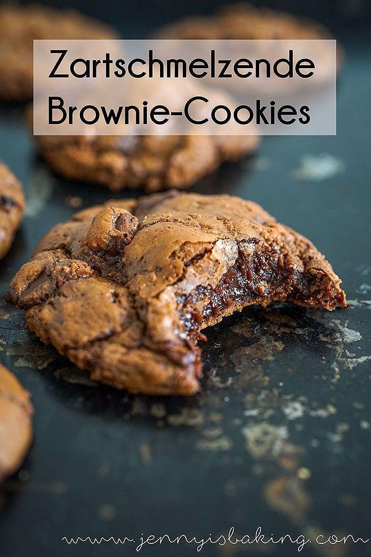 Photo of Schoko-Brownie-Cookies für trübe Novembertage – Jenny is baking