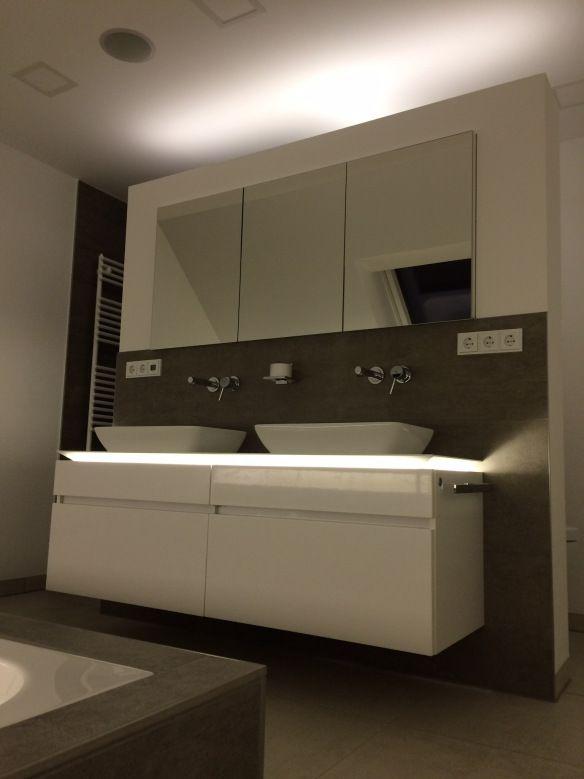 einbau spiegelschrank bad pinterest spiegelschrank badezimmer und spiegelschrank bad. Black Bedroom Furniture Sets. Home Design Ideas