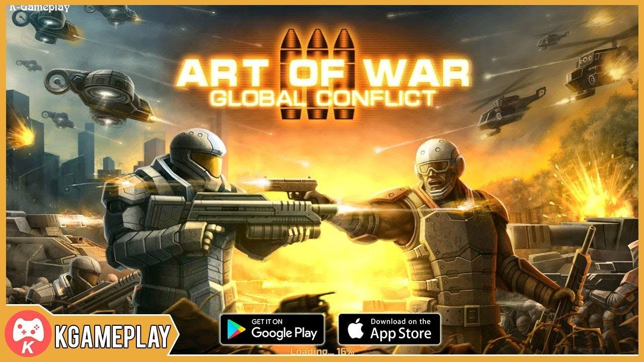 Art of War 3 Global Conflict Gameplay iOS Android Giải trí