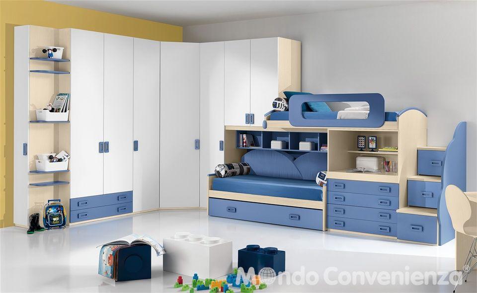 Composizione tipo Bit Mondo Convenienza Kids bedroom