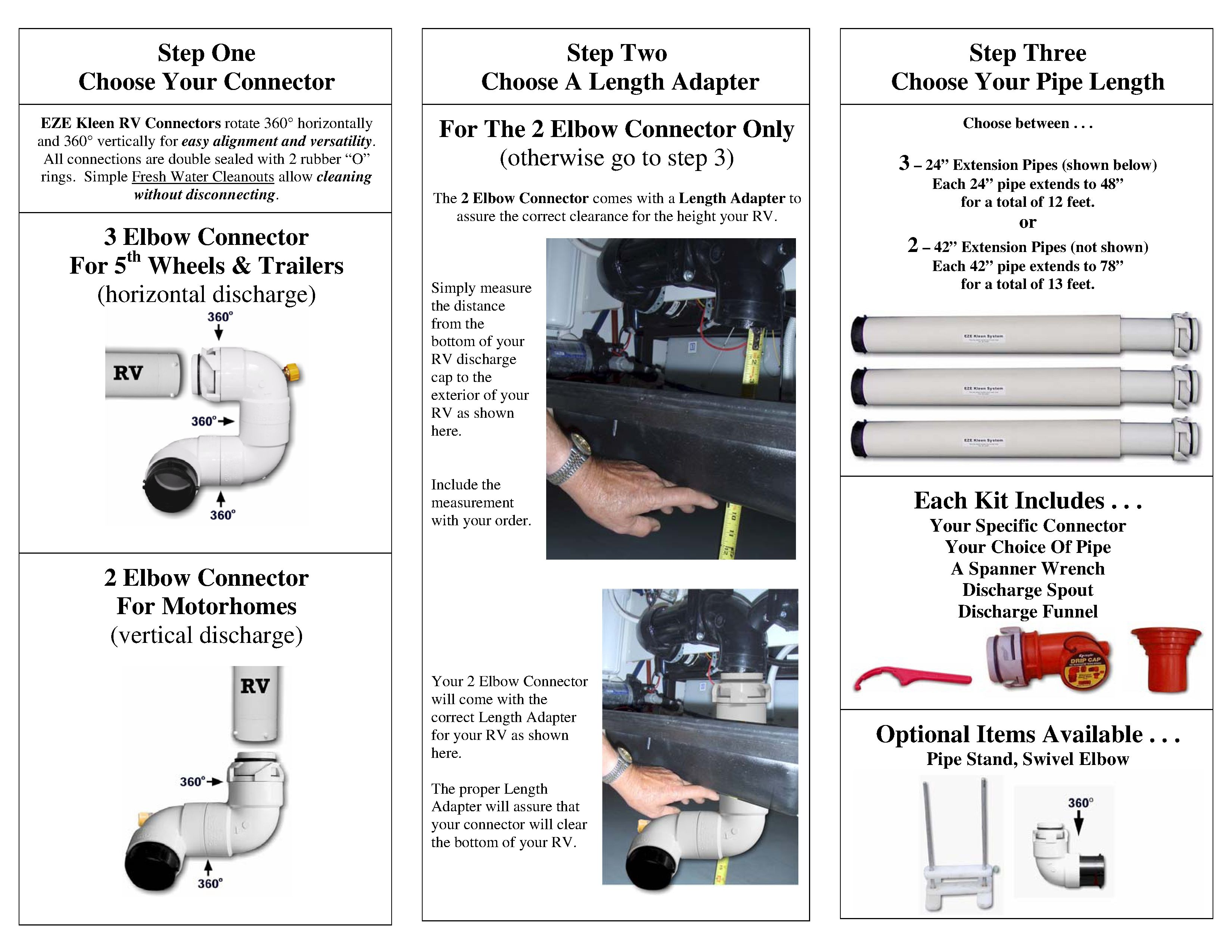 Eze Kleen The Only Rv Sewer System You Ll Ever Love Sewer System Rv Sewer