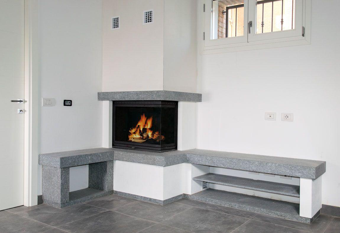 camini moderni 2 | soggiorno | pinterest | verandas, living rooms ... - Foto Soggiorno Con Camino 2