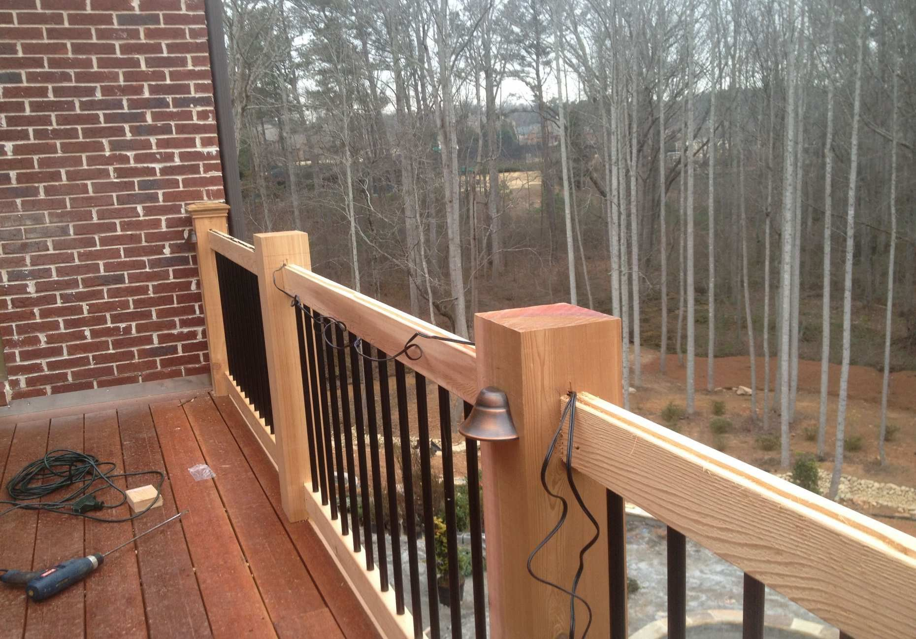 Stunning Cool Outdoor Railing Ideas Outdoor Railing Ideas ...