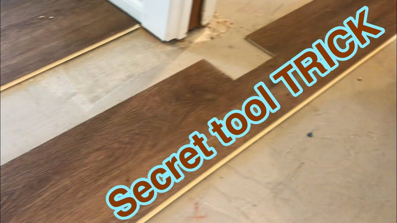 Installing Laminate Luxury Vinyl Under Door Jambs And Going Into Different Rooms Youtube Luxury Vinyl Installing Laminate Flooring Door Jamb