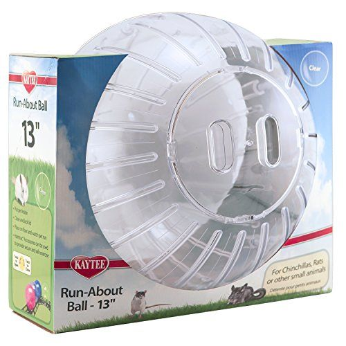 Kaytee Mega Runabout 13 Exercise Ball Clear You Can Get More Details By Clicking On The Image This Is An Amazon Affiliate Li Ball Exercises Small Pets Ball