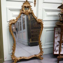 Brocante Spiegels Te Koop.Antieke Rococo Italiaanse Spiegel Spiegel In Lodewijk Xv Spiegel