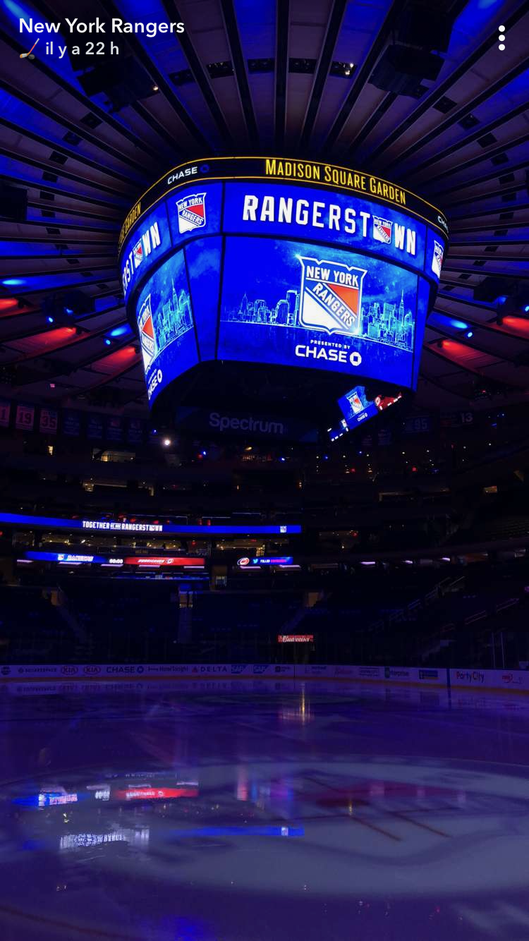 New York Rangers A Pure Thrill Walking In To Each Game Here
