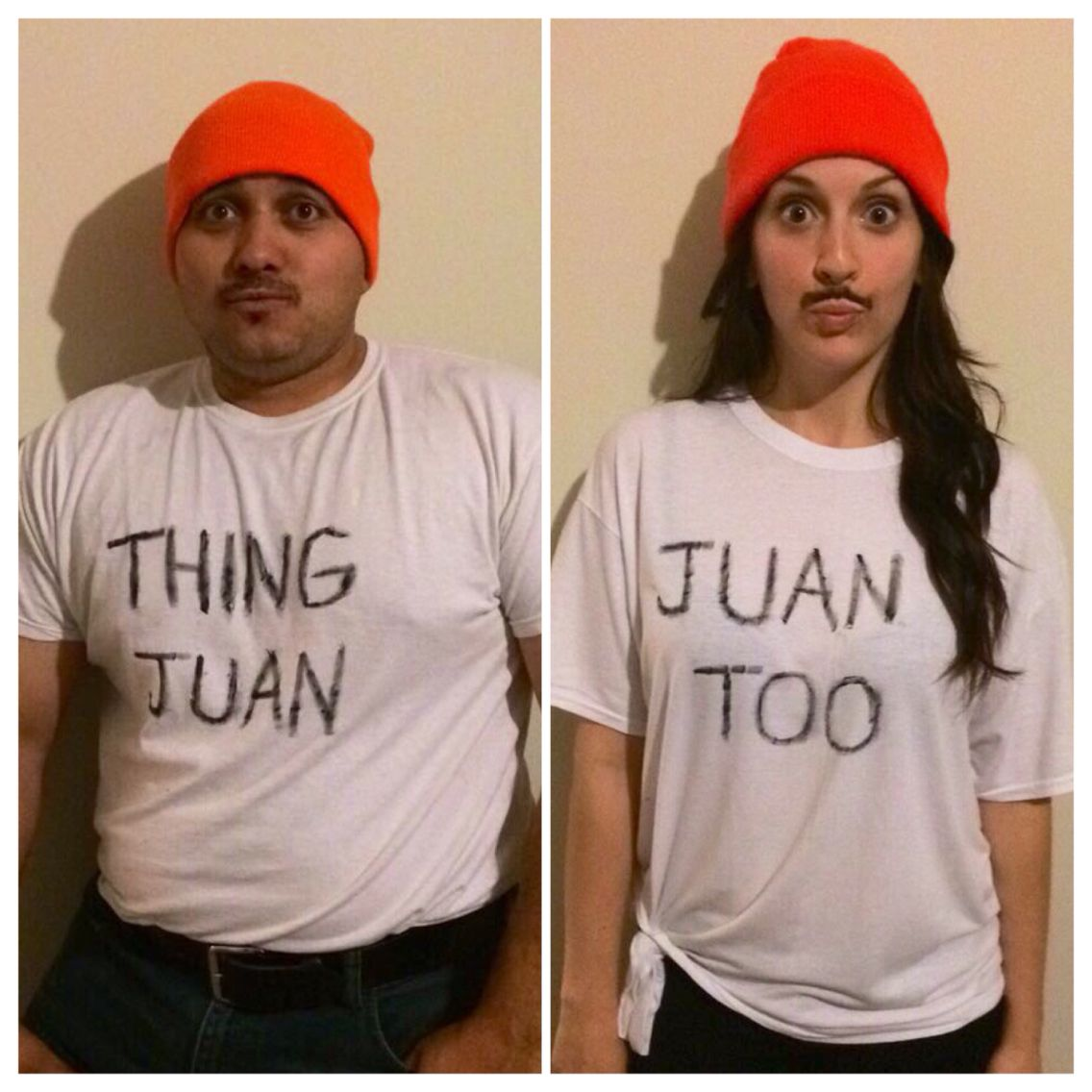 I'm Juan. Im juan too! Couples diy costume Mexican